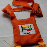 Shan Traditional Flag Design Shoulder Bag
