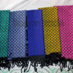 Colorful Design of Shan Traditional Shawl