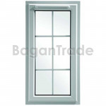 Swing Opening UPVC Casement Window
