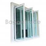 New Style UPVC Double Pane Swing Window
