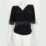 Free style black lady blouse from Myanmar