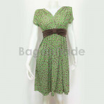 Cute short gown with short sleeve