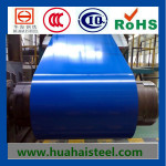 Color coated steel plates