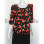 Lady ware blouse with Red Strawberry