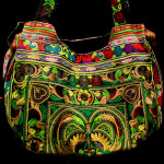 Traditional Folk Design Women Handbag