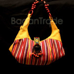 Shan Traditional Yellow color Women Handbag