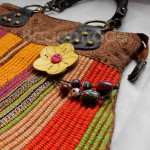 Innle design Shan traditional handbag made in Myanmar