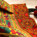 Beautiful design handmade women handbag made in Myanmar