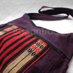 Shan traditional Shoulder Cotton Bag made in Myanmar