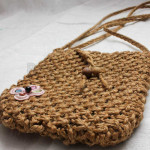 Handmade Rattan Small Shoulder Bag made in Myanmar