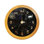 Black and bamboo color Bamboo clock in Myanmar