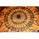 Bagan Design of Traditional Parasol