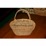 Cane Basket of Oval Shaped