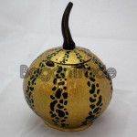Pumpkin Design Art  Coconut Shell made in Myanmar
