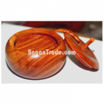 Wooden Coaster set with Apple case