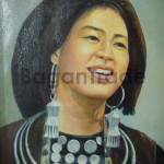 Smiling Palaung Lady