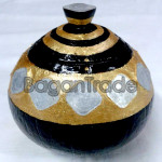 Myanmar Traditional Antique Coin Coconut Shell Craft