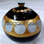 Antique Money Coin design Coconut Shell Craft