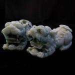 Jade Sculpture with Pixiu Design