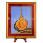 Graceful Kyaik Htee Yoe Pagoda design Gem Stone Painting