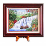 Waterfall and Jungle Gem Stone Painting
