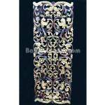 Flower Arabesque Panel design Wooden carving