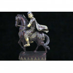 The Kyan Sit Min riding Horse style Wood carving