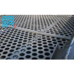 Perforated metal sheets for mining industry
