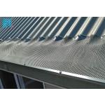 Expanded Metal Mesh for leaf gutter guards
