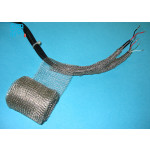 Knitted wire mesh for EMI RFI shielding