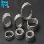 Knitted wire mesh for auto parts