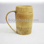 Natural Bamboo Cup with handle