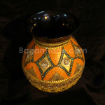 Hand-color Painted Handmade Lacquer Pot