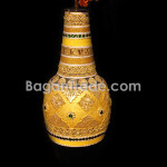 Big Bottle Design Handmade Lacquer Pot