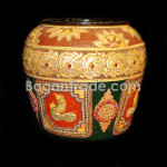 Dragon Design Water lacquer pot
