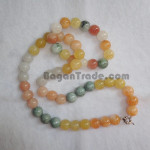 Water stone and Jade with necklace and bracelet set