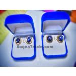 Mogoke Natural Sapphire Earring