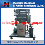 Zhongneng Vacuum Turbine Oil Purifier Series TY