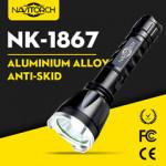 Aluminum Alloy CREE XP-E LED Handheld Waterproof LED Flashlight/LED Torch (NK-1867)