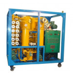 Double Stages Vacuum Transformer Oil Filter Machine