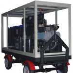 MTP Mobile Trailer Transformer Oil Purifier