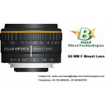 35 MM F MOUNT LENS & 50 MM F MOUNT MACHINE VISION LENS