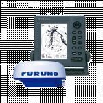 """Model 1715 FURUNO  7"""" LCD RADAR"""