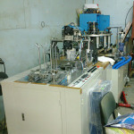 Paper cup making machine and Paper cutting machine