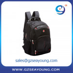 High quality business backpack with custom logo laptop lightweight carry  backpack