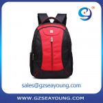 new arrival bag backpack black and red classic laptop sleeve case backpack