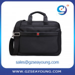 High end professional laptop case men laptop durable laptop briefcase shoulder messager bag