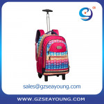 Hot style kids backpack teenagers trolley school bag multicolorful cute backpack