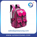 High Quality New Design Fancy School Bag Fanny Pack Multi Pockets Design School Backpack