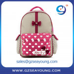 High quality laptop computer school bag girls beauty backpack school bag